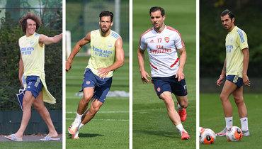 «Арсенал» объявил опродлении контрактов сЛуизом, Мари иСебальосом