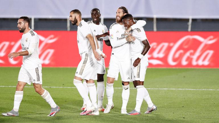 24июня. Мадрид. «Реал»— «Мальорка»— 2:0. Фото Twitter