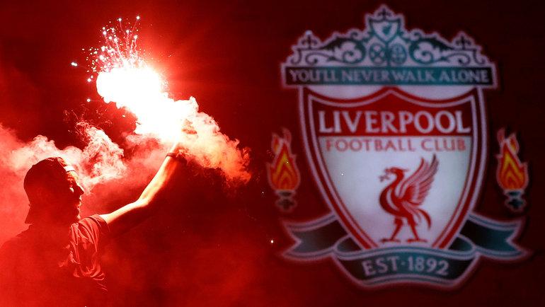 25июня. Ливерпуль. Фанаты «Ливерпуля» празднуют первое с1990 года чемпионство. Фото Reuters