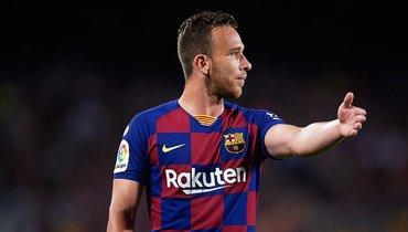 Полузащитник Артур может перейти из «Барселоны» в «Ювентус».