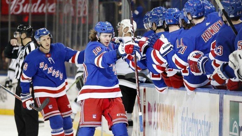 Артемий Панарин выступил собращением поповоду возобновления НХЛ исокращения зарплат. Фото NYRangers0