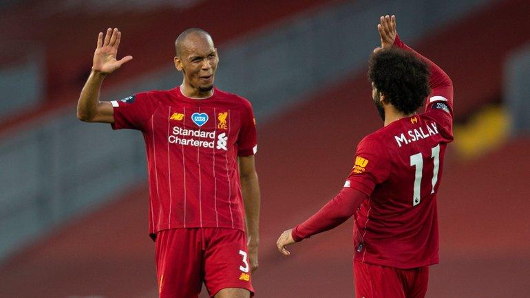 «Ливерпуль» выиграл чемпионат Англии. Фото twitter.com/LFC