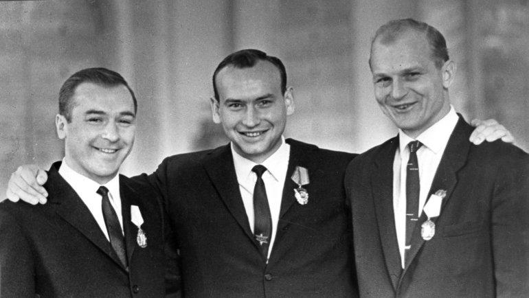 Константин Локтев, Александр Альметов иВениамин Александров. Фото Анатолий Бочинин