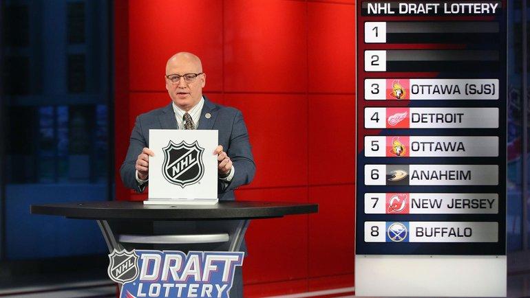 Лотерея драфта НХЛ-2020. Фото НХЛ