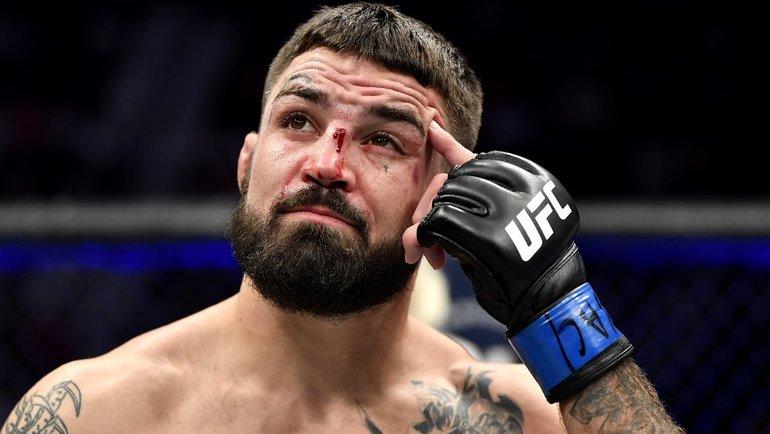 Майк Перри. Фото UFC