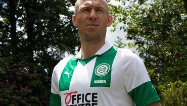 Роббен возобновил карьеру ивернулся в «Гронинген»