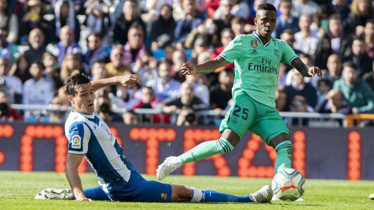 «Эспаньол» принимает «Реал» вматче 32-го тура примеры.