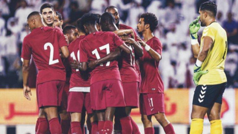 Сборная Катара по футболу. Фото AS