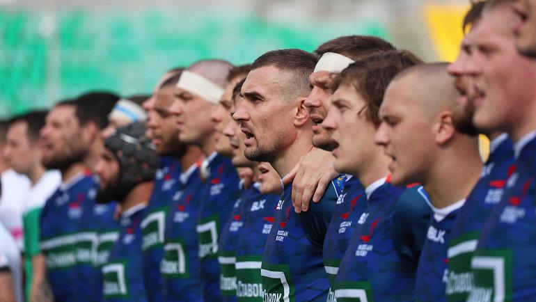 Игроки сборной России порегби. Фото rugby.ru