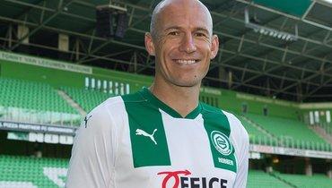 Роббен станет новым капитаном «Гронингена»