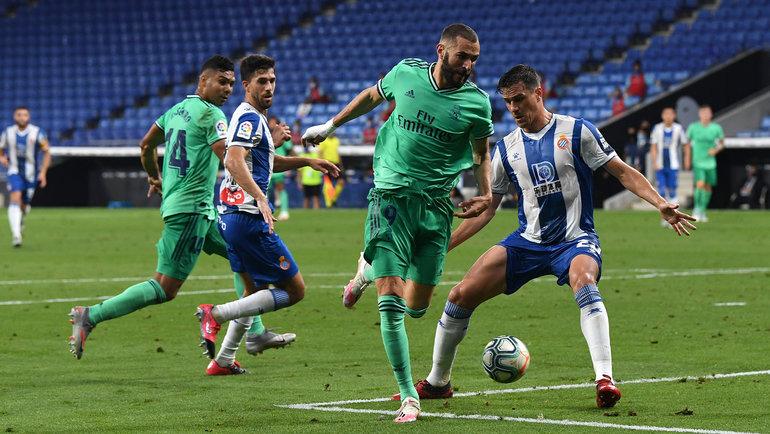 Карим Бензема ватаке. Фото Real Madrid C.F.