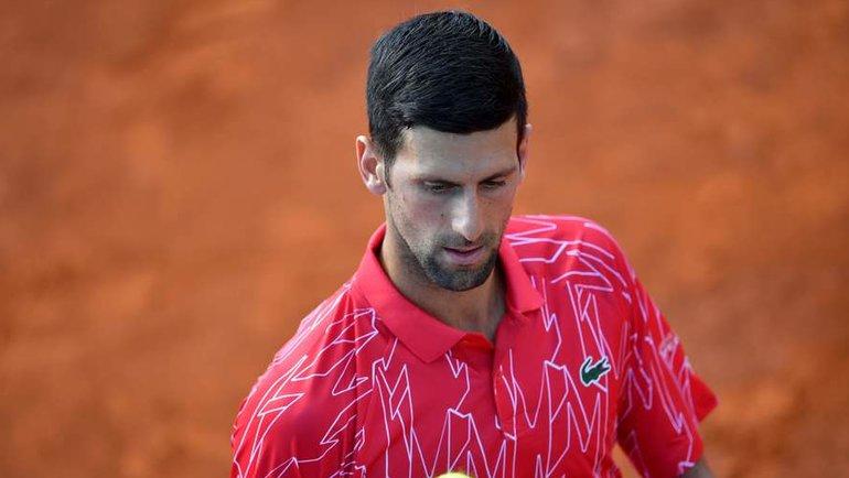 Новак Джокович. Фото AFP