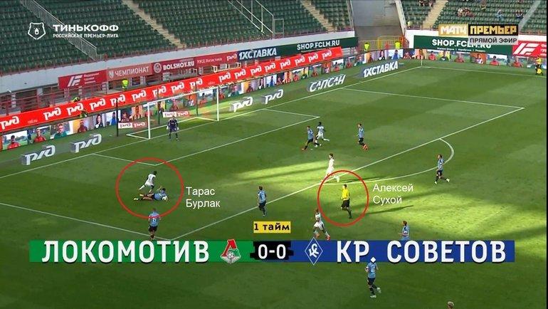 25-й тур. «Локомотив»— «Крылья Советов».