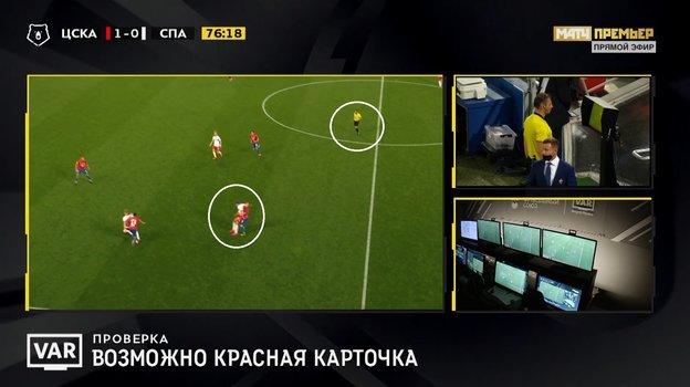 """ЦСКА - """"Спартак""""."""