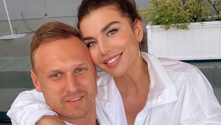 Анна Седокова и Янис Тимма. Фото Instagram