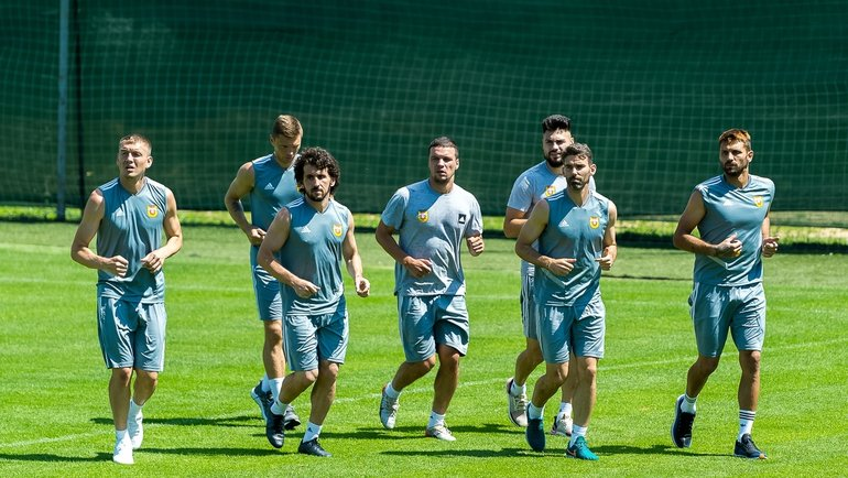Игроки тульского «Арсенала». Фото ФК «Арсенал» Тула