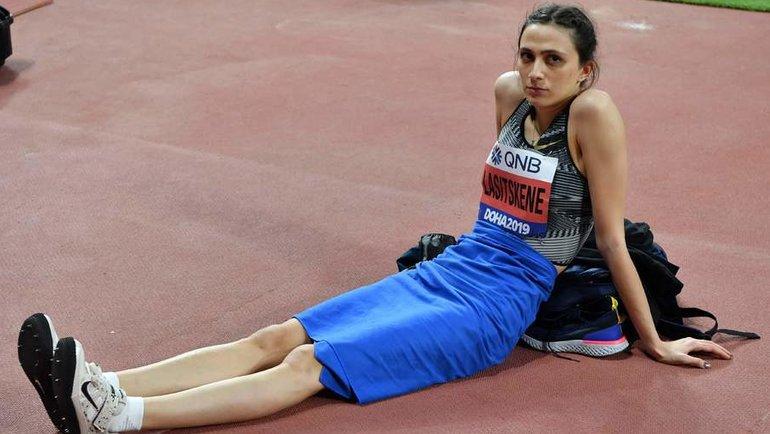 Что теперь ждет Марию Ласицкене идругих российских атлетов? Фото Reuters