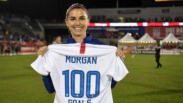 Самая сексуальная футболистка вмире. Алекс Морган— чемпионка мира исуперзвезда соцсетей