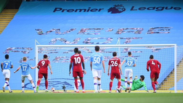2июля. Манчестер. «Манчестер Сити»— «Ливерпуль». Фото Reuters