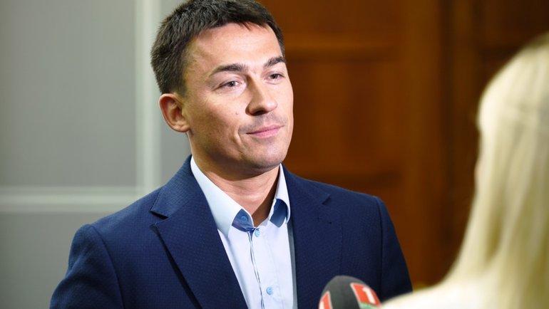 Дмитрий Басков. Фото ХК «Динамо» Минск.