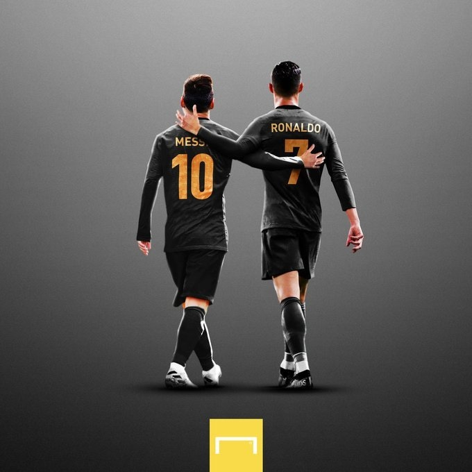 Лионель Месси и Криштиану Роналду. Фото коллаж Goal