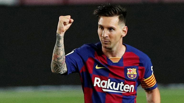 Звезда «Барселоны» Лионель Месси может перейти в «Манчестер Сити». Фото Reuters