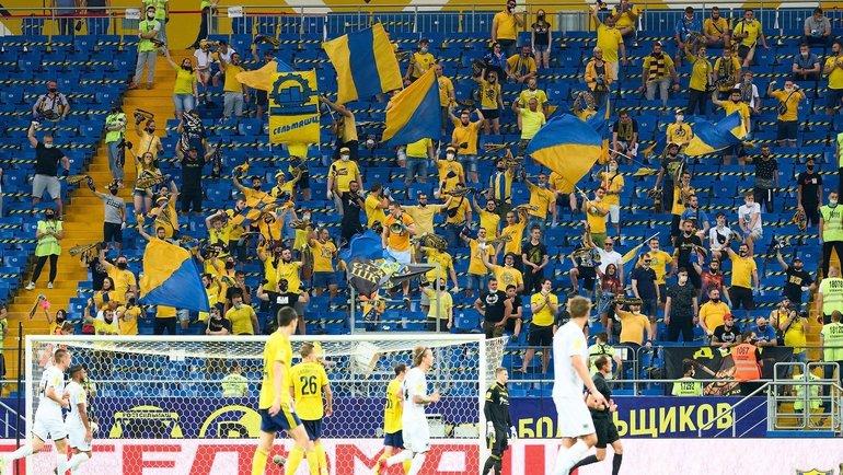 Матч «Ростов» — «Краснодар». Фото ФК «Ростов»