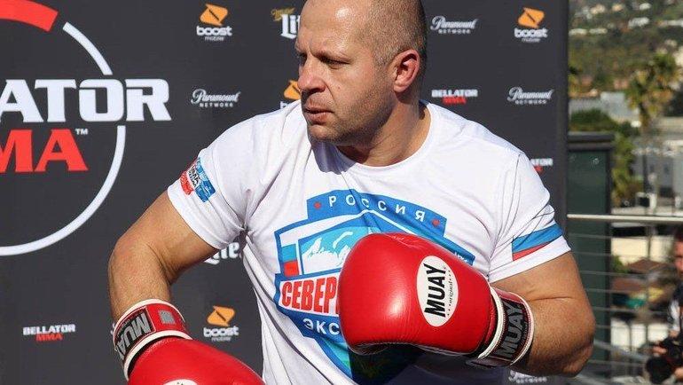 Федор Емельяненко. Фото Bellator
