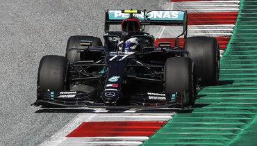 Боттас выиграл «Гран-при Австрии», Квят сошел