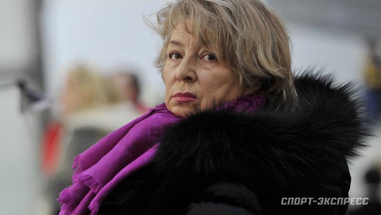Татьяна Тарасова. Фото Александр Федоров, «СЭ»