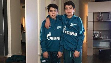 Сыновья Данни Бернанду иФрансишку могут вернуться вакадемию «Зенита»