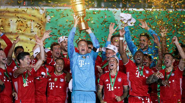 «Бавария»— обладатель Кубка Германии. Фото Reuters