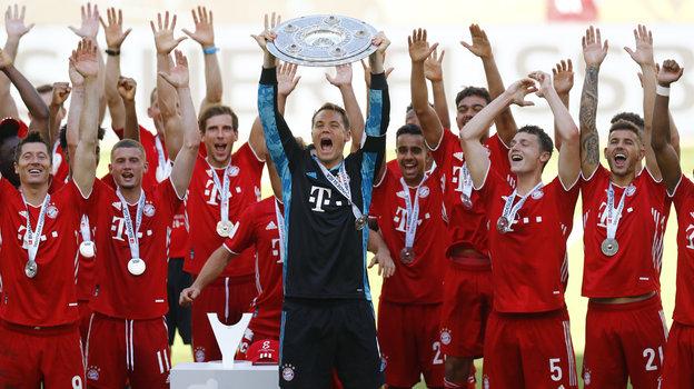 """Бавария"" - чемпион Германии. Фото Reuters"
