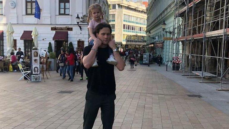 Никита Зайцев сдочерью. Фото instagram.com