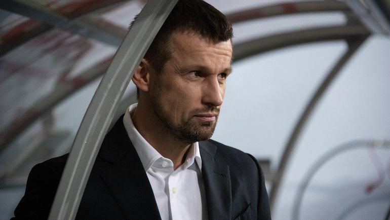 Сергей Семак. Фото Вя, ФК «Зенит»