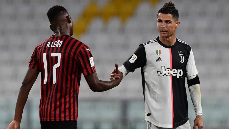 «Милан» насвоем поле примет «Ювентус». Фото AFP
