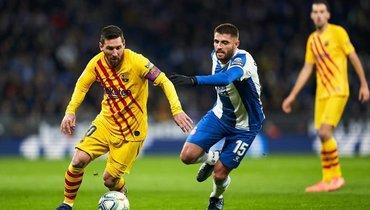 «Барселона»— «Эспаньол»: видеотрансляция матча в23.00