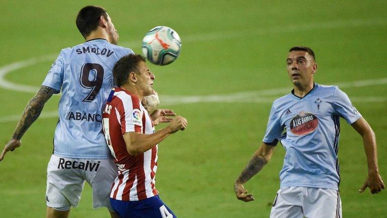 7июля. «Сельта»— «Атлетико»— 1:1. Фото AFP