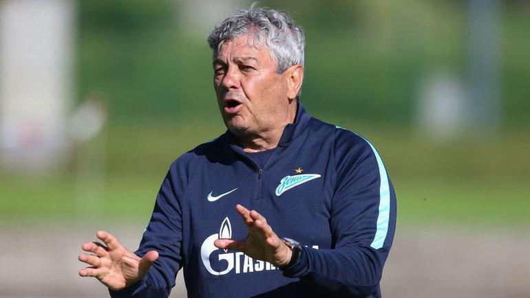 Бывший главный тренер «Зенита» Мирча Луческу. Фото ФК «Зенит»