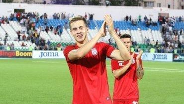 «Это игрок сборной!» Игроки «Уфы» поздравили Даниила Фомина после победы над «Ростовом»