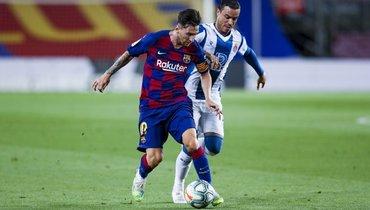 Гол Суареса принес «Барселоне» победу над «Эспаньолом»