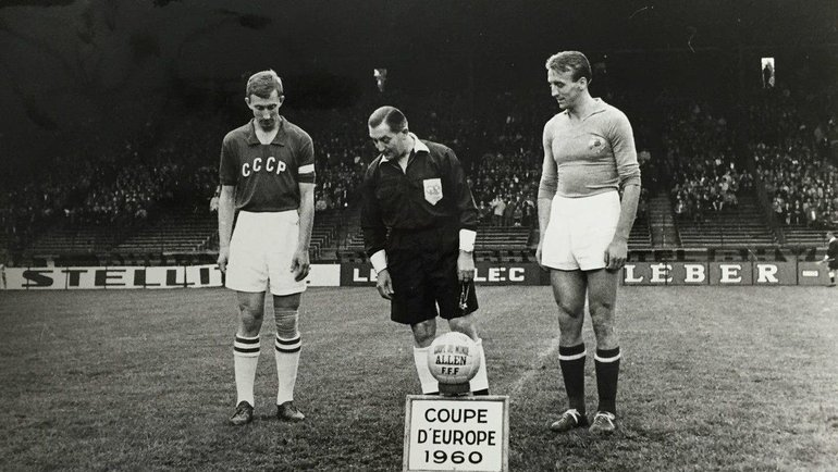 СССР - Югославия, финал ЧЕ-1960. Фото Twitter