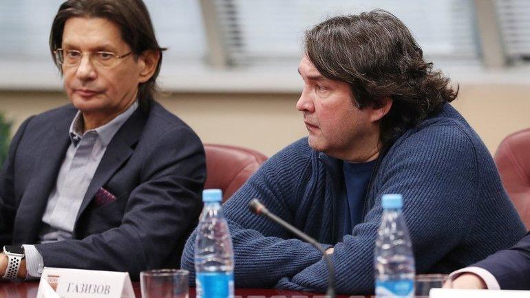 Леонид Федун иШамиль Газизов. Фото Федор Успенский, «СЭ»