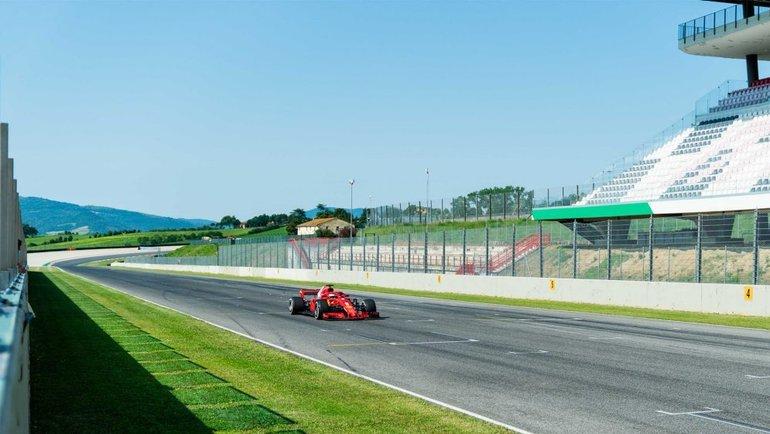 Трасса вМуджелло. Фото Сайт «Формулы-1».