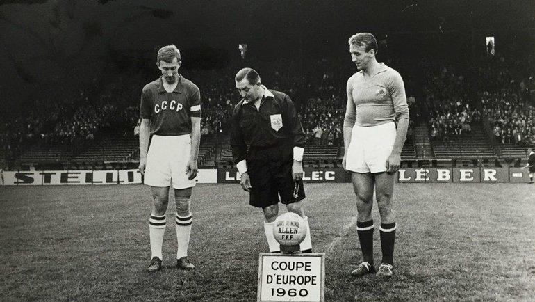СССР— Югославия, финал ЧЕ-1960. Фото Twitter.