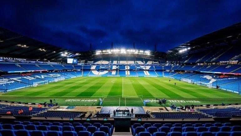 Стадион «Ман Сити». Фото Twitter.