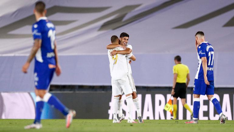 10июля. «Реал»— «Алавес»— 2:0. Фото Twitter