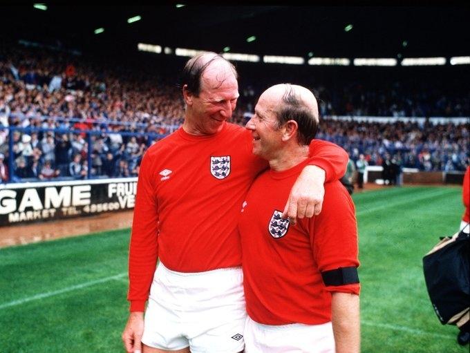 "Братья Бобби и Джек Чарльтоны. Фото ""Манчестер Юнайтед"""