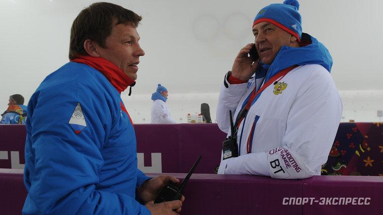 "Виктор Майгуров (слева). Фото Федор Успенский, ""СЭ"""