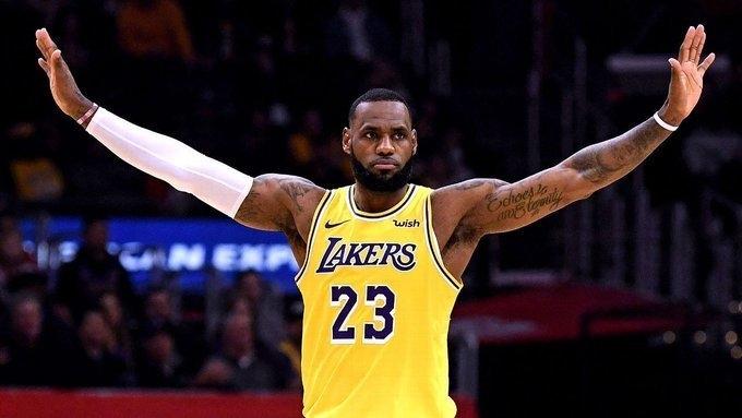 Леброн Джеймс. Фото ESPN.